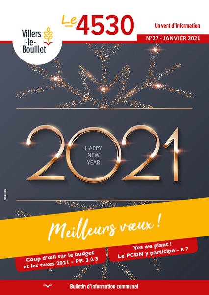 Bulletin communal n°26 - Octobre 2020